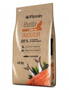 FITMIN Indoor Salmón Grain...