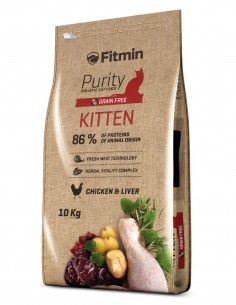 FITMIN Kitten Pollo Grain Free