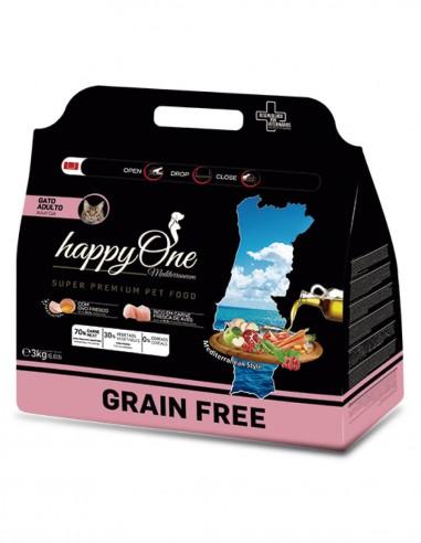 HAPPY ONE Grain Free Ave - Pienso...