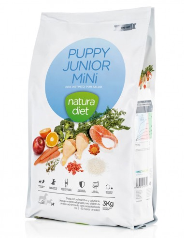 NATURA DIET Puppy Junior Mini 3 KG...