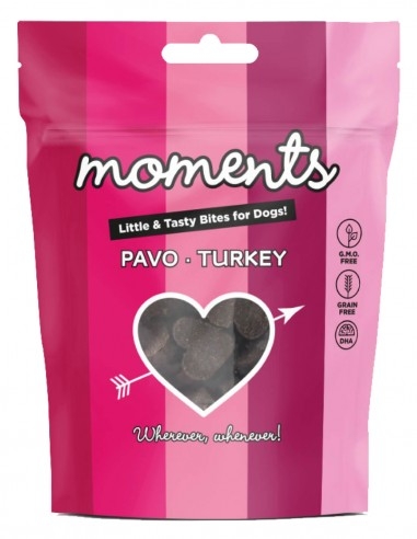 MOMENTS Pavo 60g - Snack para perro