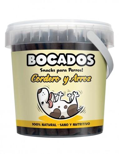 BOCADOS Cordero y Arroz 300g - Snack...