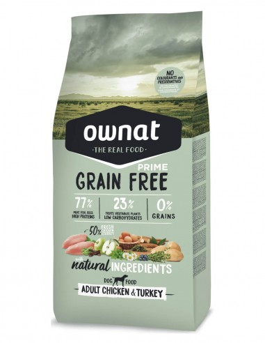 OWNAT Adult Grain Free Pollo & Pavo -...