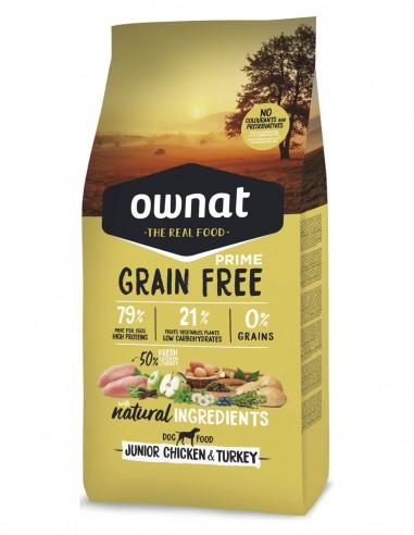 OWNAT Junior Grain Free Pollo & Pavo...