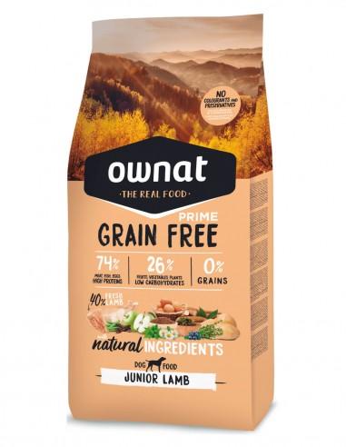 OWNAT Junior Grain Free Cordero -...