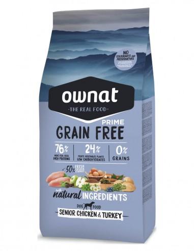 OWNAT Senior Grain Free Pollo & Pavo...