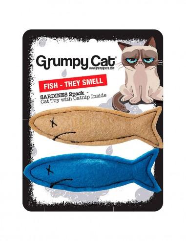 GRUMPY CAT Smelly Sardines - Juguete...