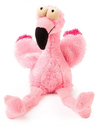 FUZZYARD Flamingo - Peluche para perro
