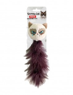 GRUMPY CAT Feather Tail -...