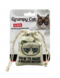 GRUMPY CAT Catnip Cat Sack...