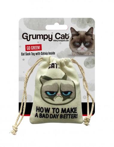 GRUMPY CAT Catnip Cat Sack - Juguete...