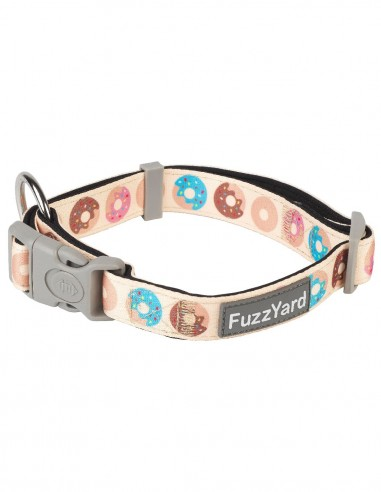 FUZZYARD Collar Go Nuts for Donuts -...