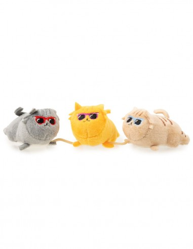 FUZZYARD Cool Cats x3 - Juguete para...