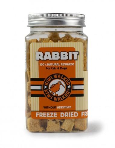 Snack Natural Liofilizado Conejo 75g...
