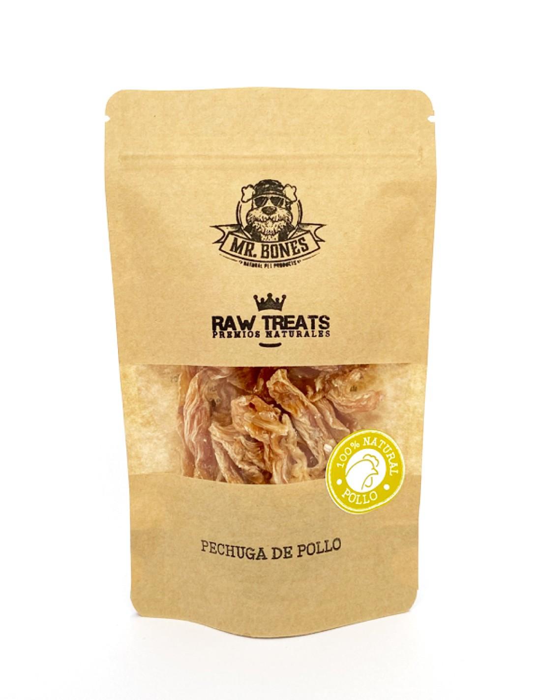 Pechuga de Pollo (45g) - Premios Naturales Deshidratados