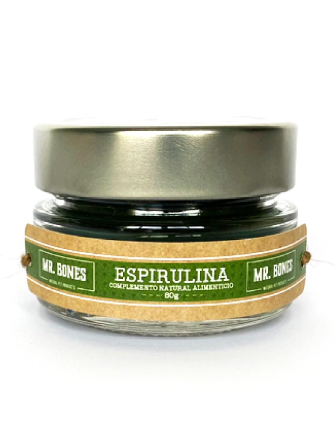 Espirulina Deshidratada en Polvo 80g - Suplemento Natural