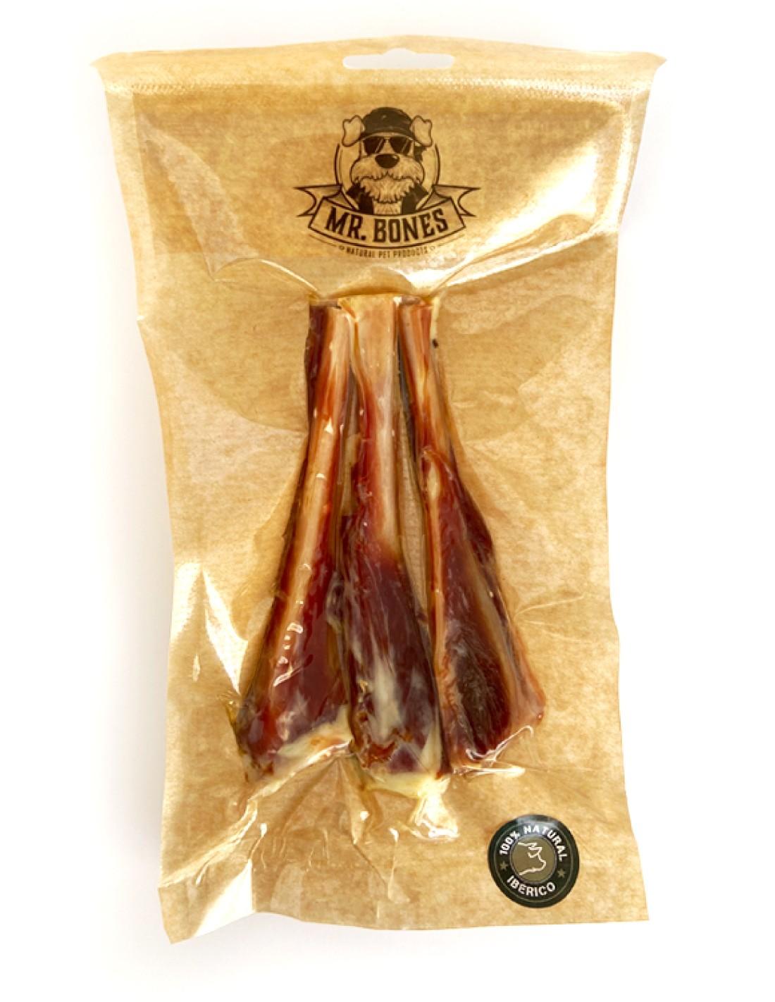 Mini Hueso Jamón Ibérico 3 uds - Snack deshidratado