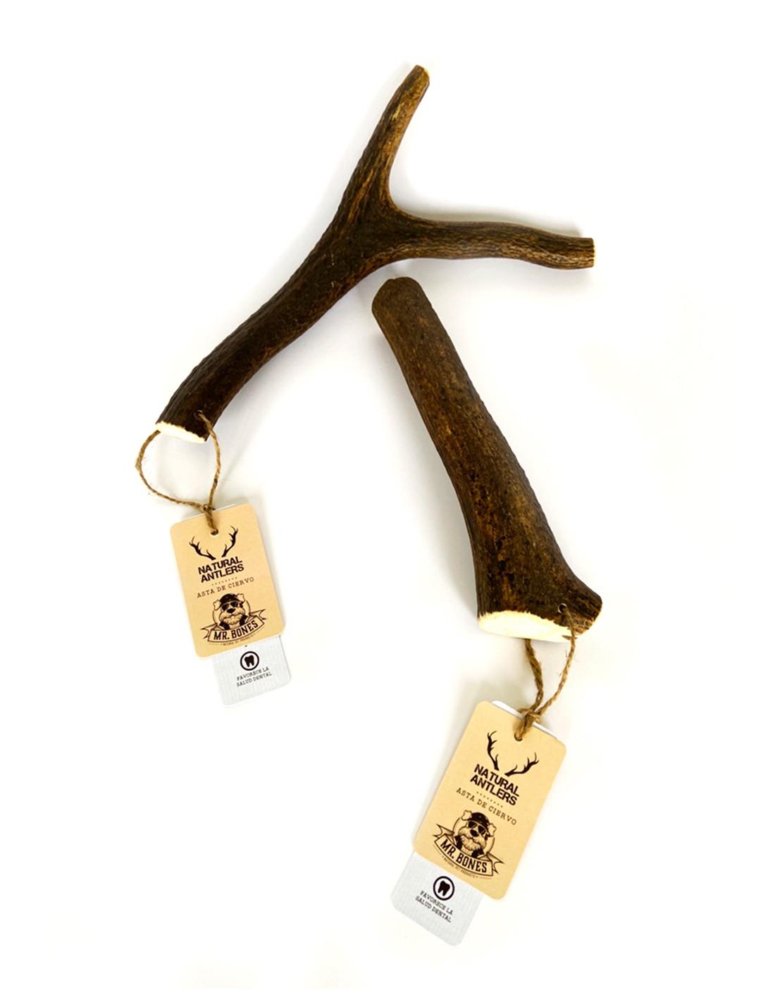 Asta de ciervo M (80-10g) - Mordedor recreativo natural