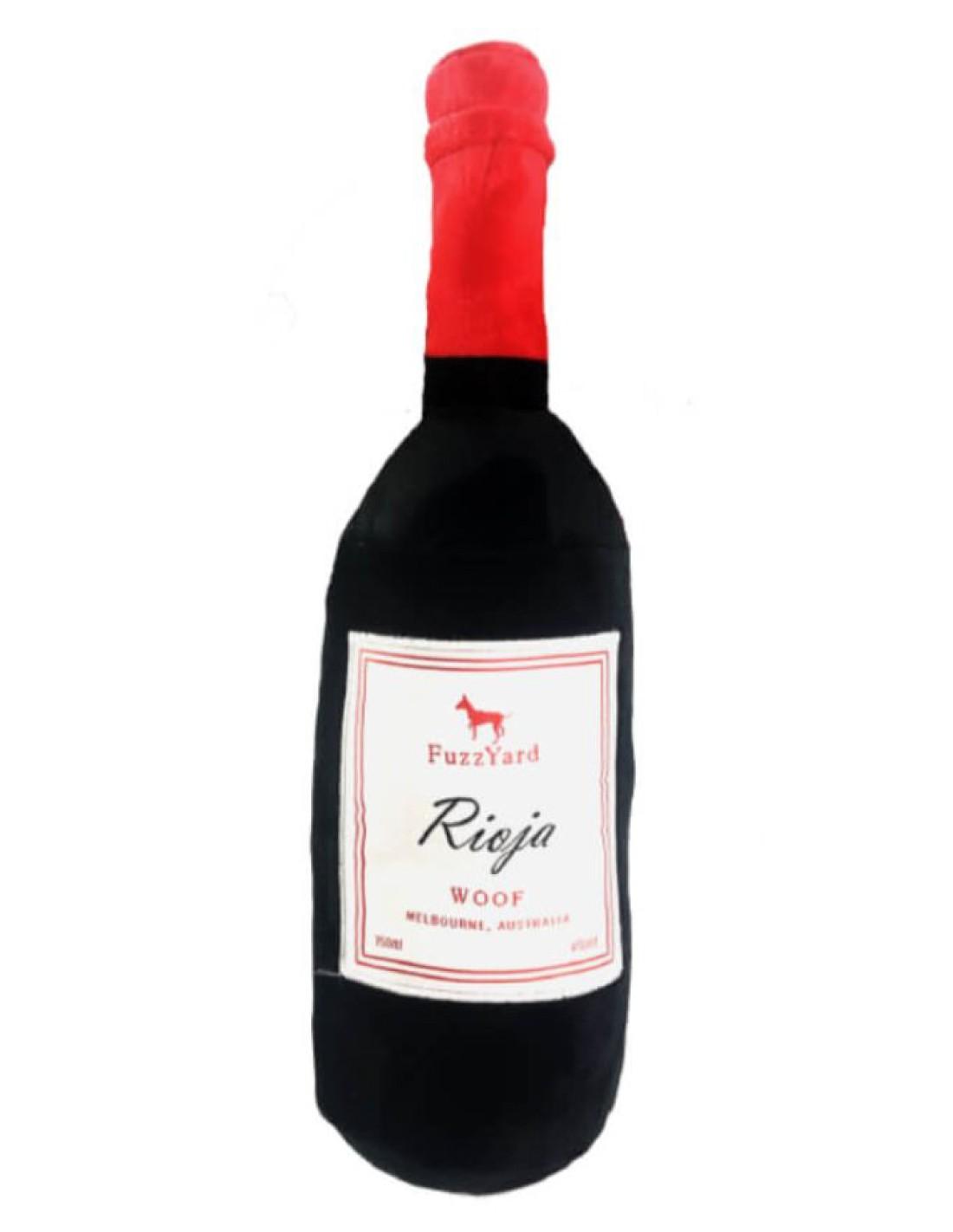 FUZZYARD Vino Rioja - Peluche grande para perro