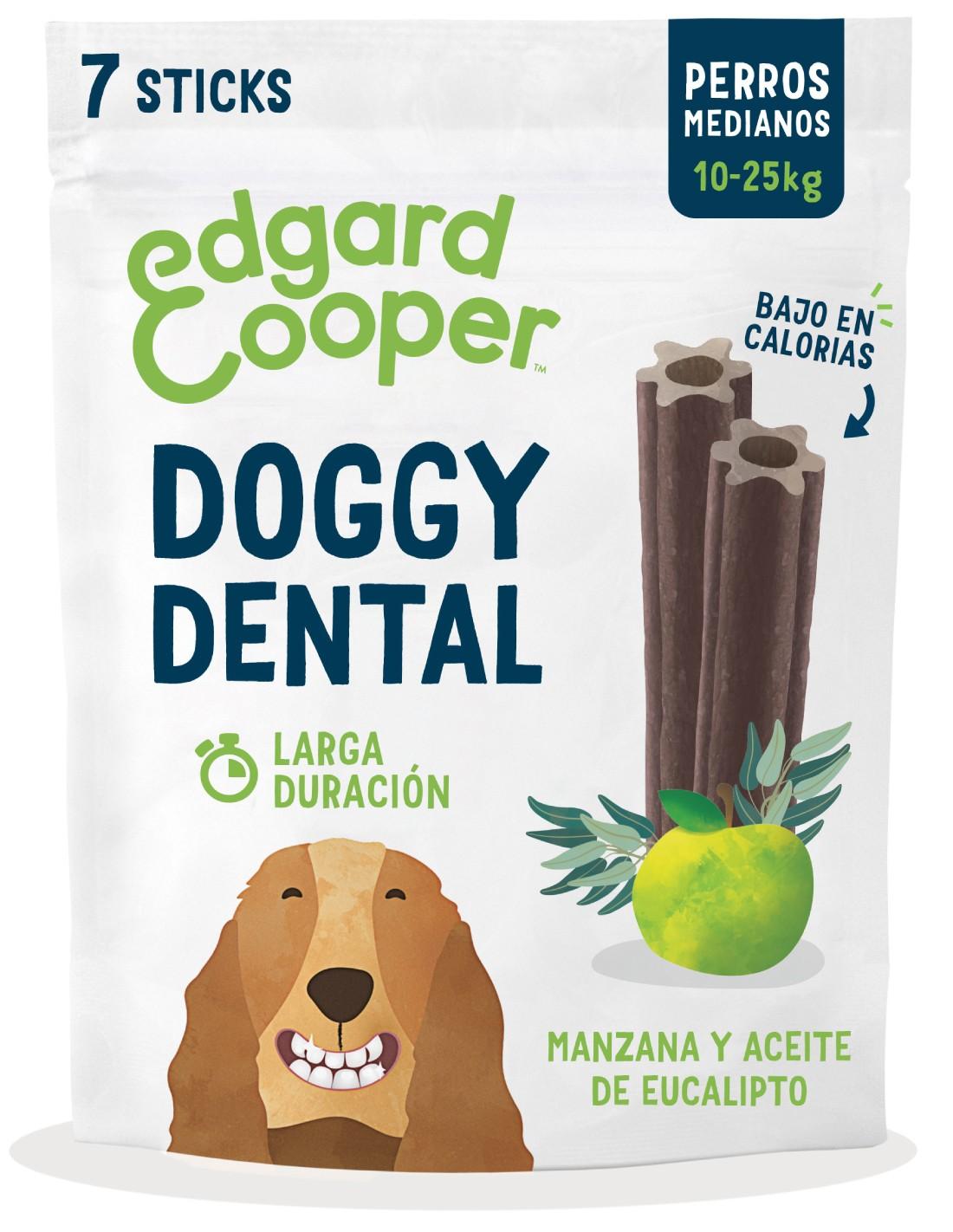 Edgard Cooper Barritas Dentales Manzana y Eucalipto M (175g)
