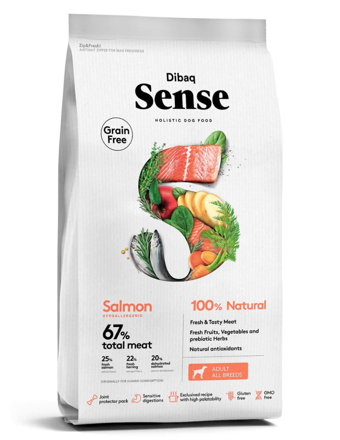 DIBAQ SENSE Salmón Grain Free - Adulto