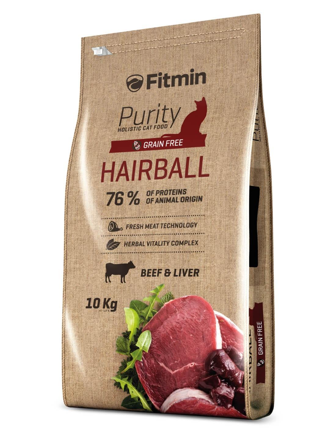 FITMIN Hairball Buey Grain Free