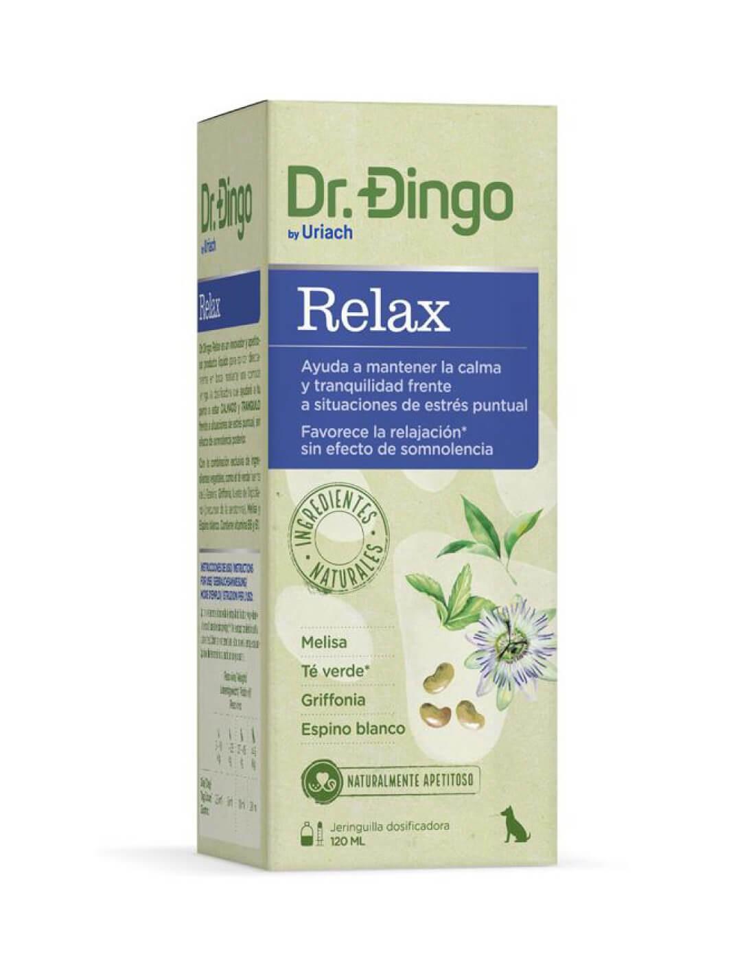 Dr Dingo Relax - Relajante natural para perros