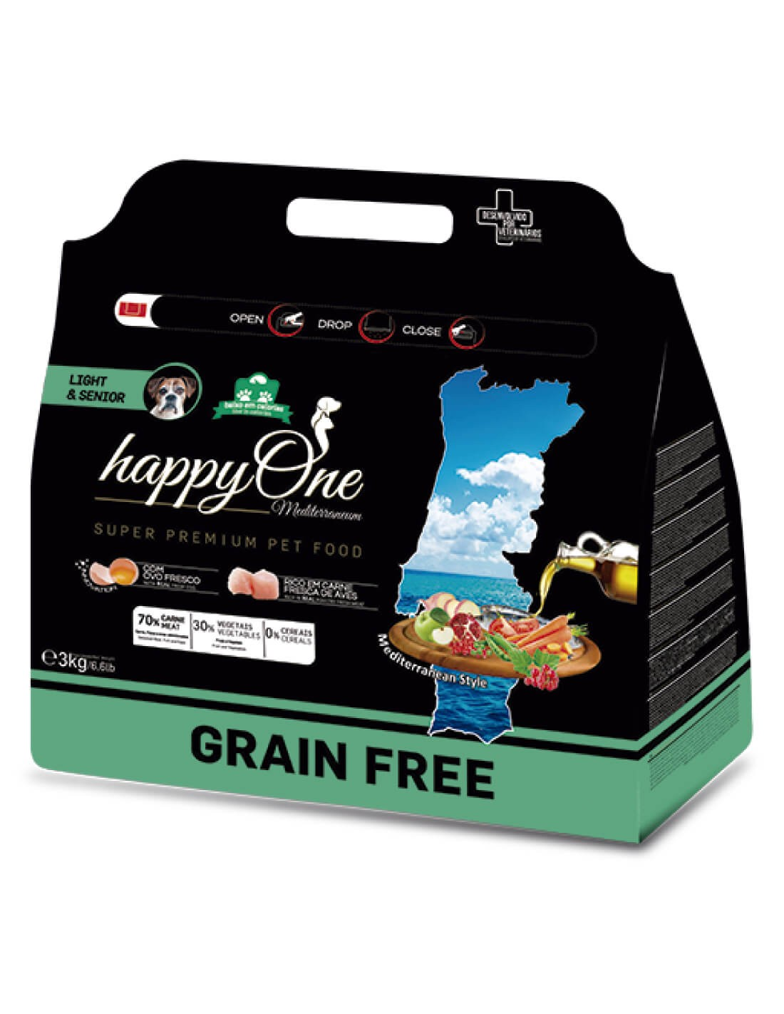 HAPPY ONE Grain Free Senior Ave - Pienso para perros