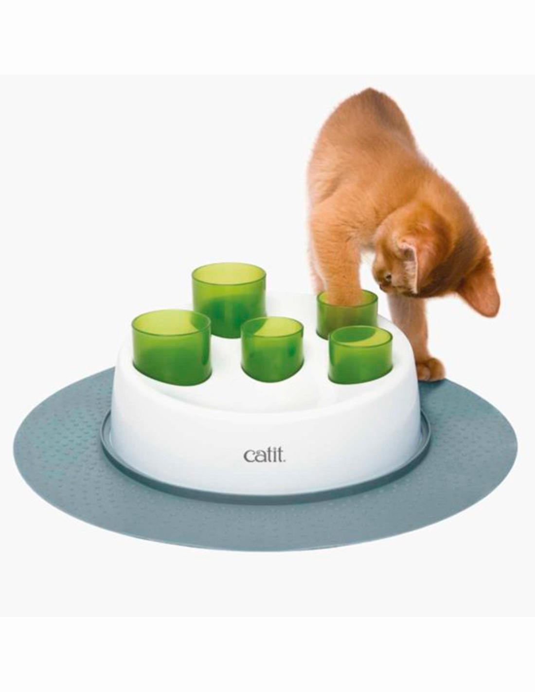 Catit Comedero Digger Interactivo antivoracidad para gatos