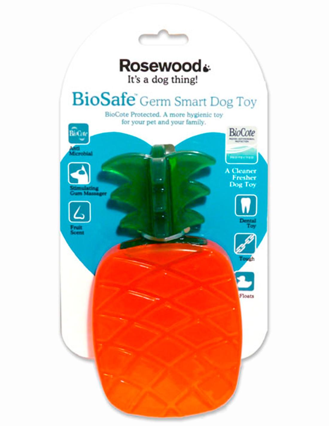 Biosafe Pineapple Juguete de goma con olor a Piña
