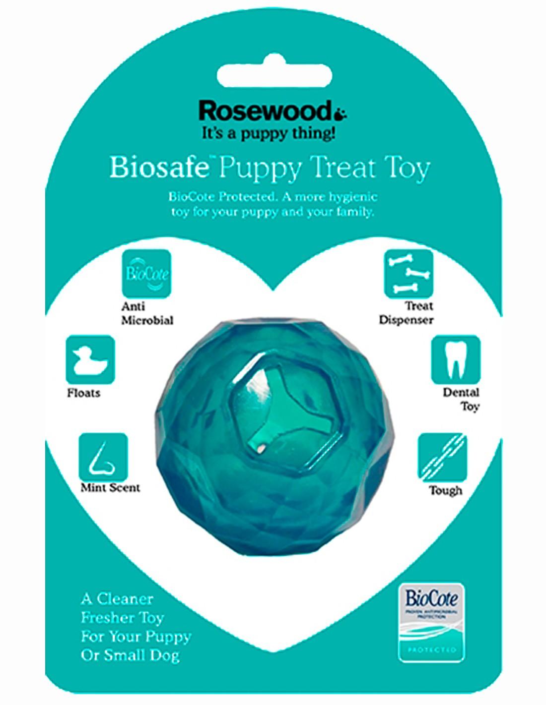 Biosafe Pelota Educativa para cachorros