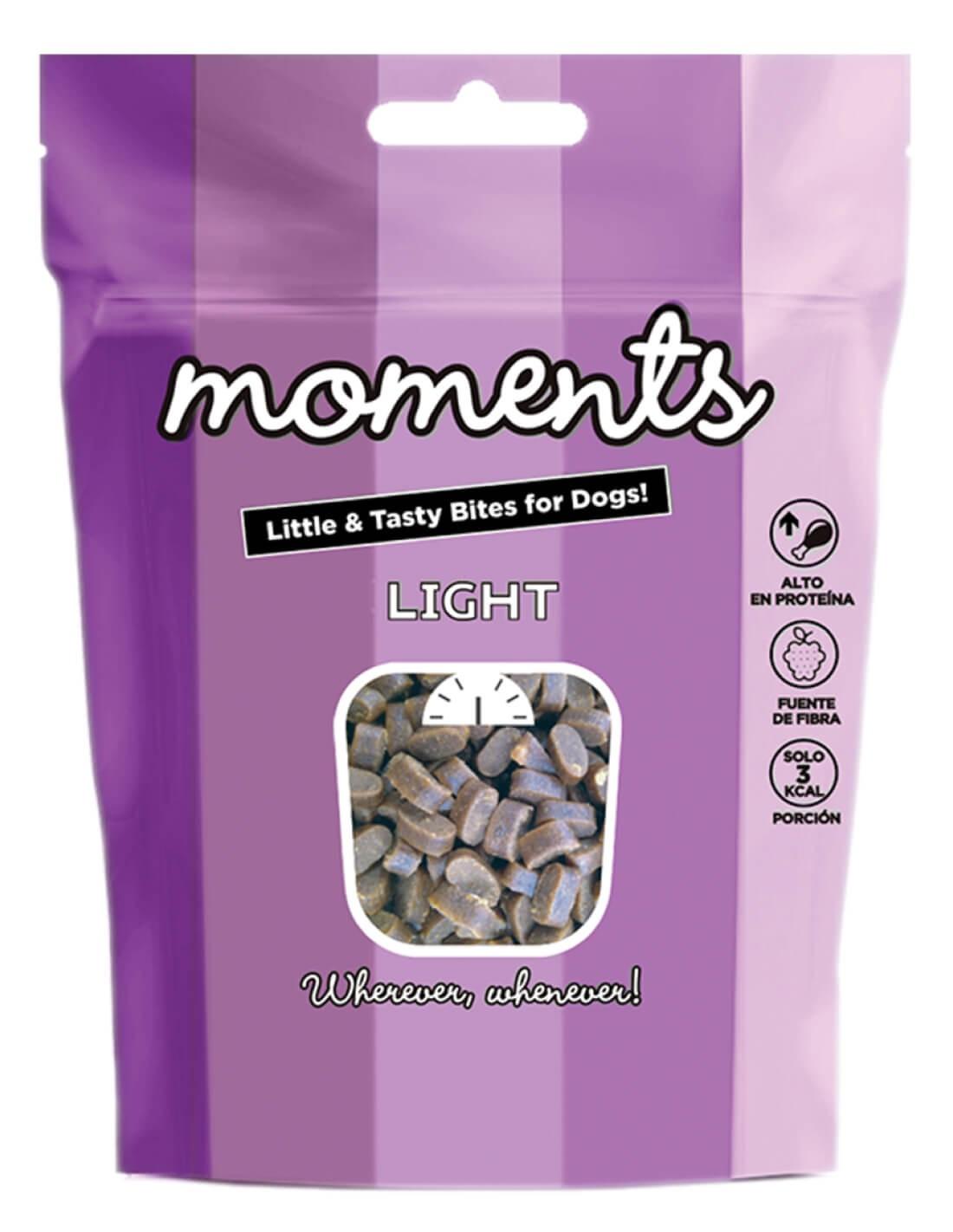 MOMENTS Light 60g - Snack para perro