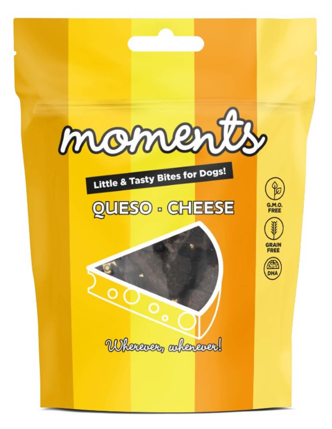 MOMENTS Queso 60g - Snack para perro