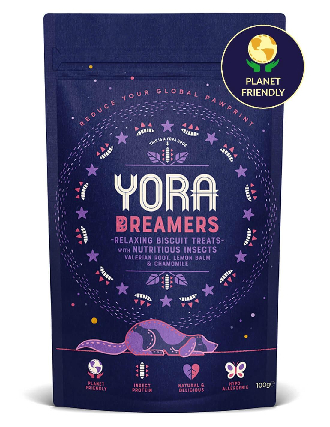 YORA Dreamers - Snack de Insecto para perros - 100g