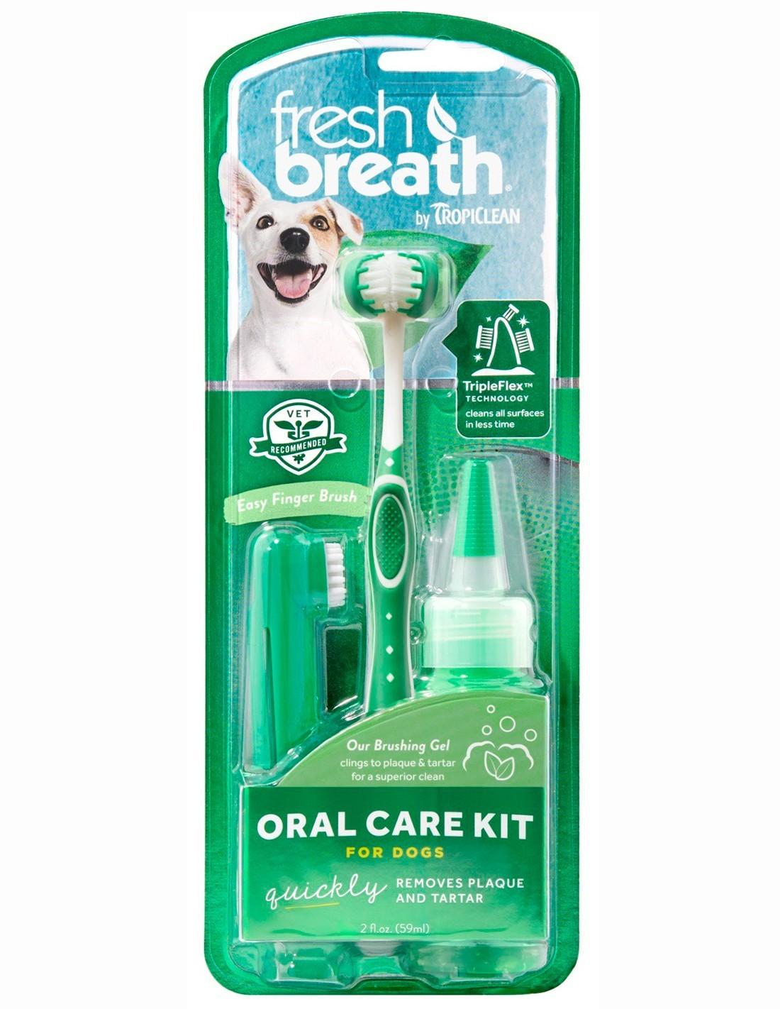 Tropiclean Kit de higiene dental 59ml
