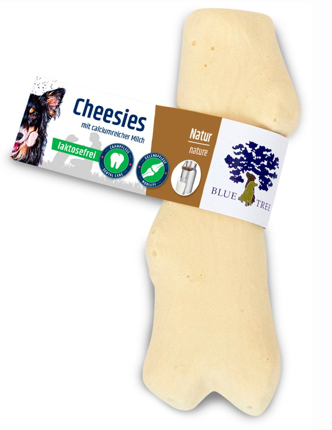 Blue Tree Snack Natural leche sin lactosa 50g