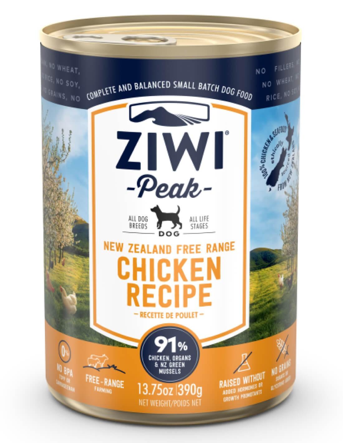 ZIWI PEAK Pollo - Comida húmeda para perros 390g