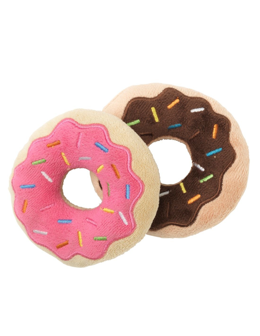 FUZZYARD Donut doble - Peluche para perro