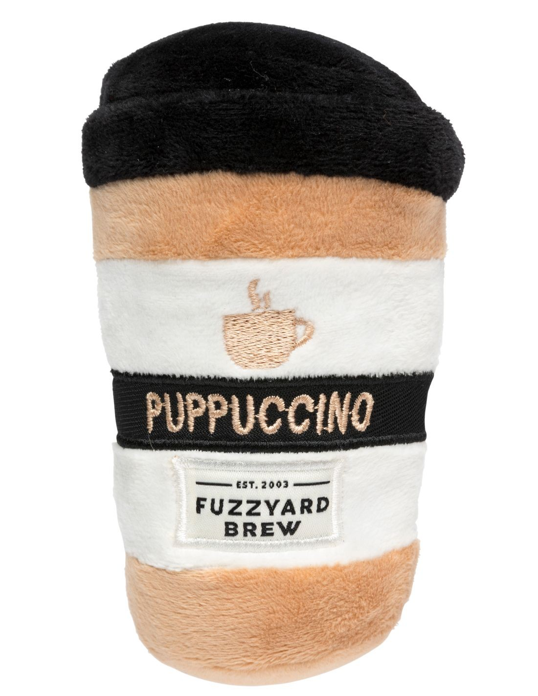 FUZZYARD Puppuccino Coffee - Peluche para perro