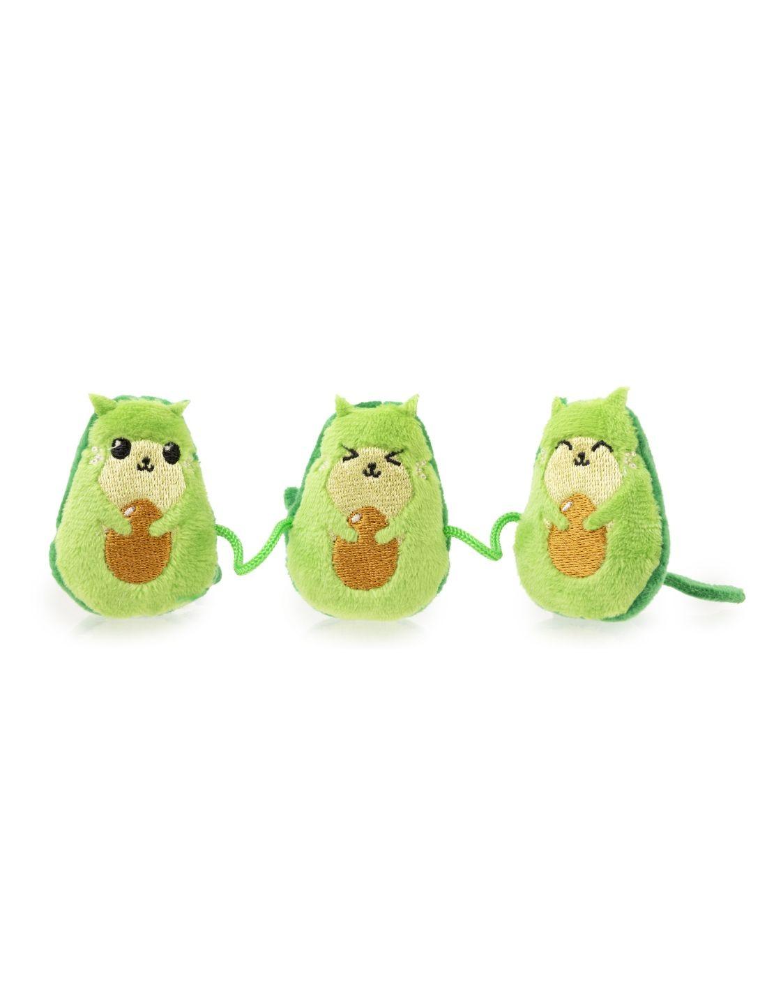 FUZZYARD Avocatos x3 - Juguete para gato