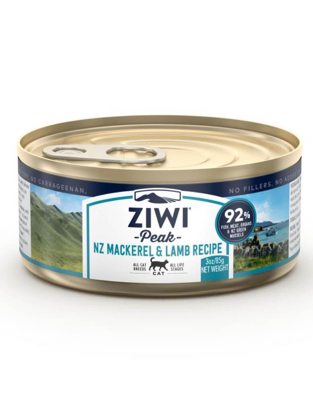 ZIWI PEAK Caballa y Cordero - Comida húmeda para gatos 85g