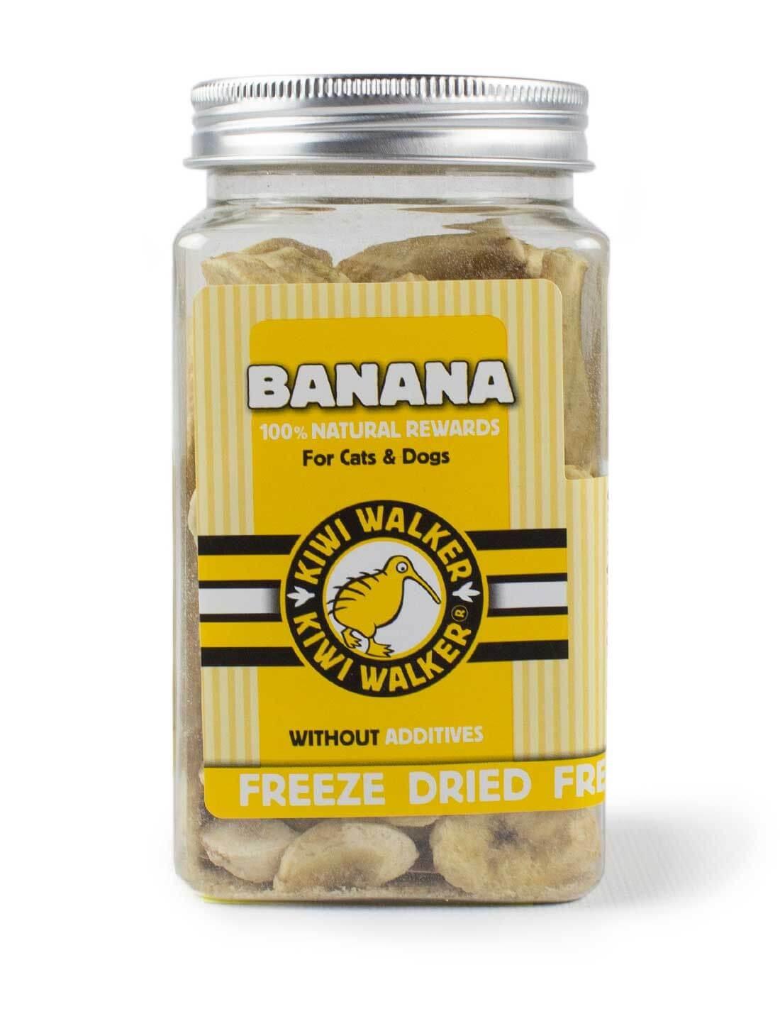 Snack Natural Liofilizado Banana 70g - para perros y gatos