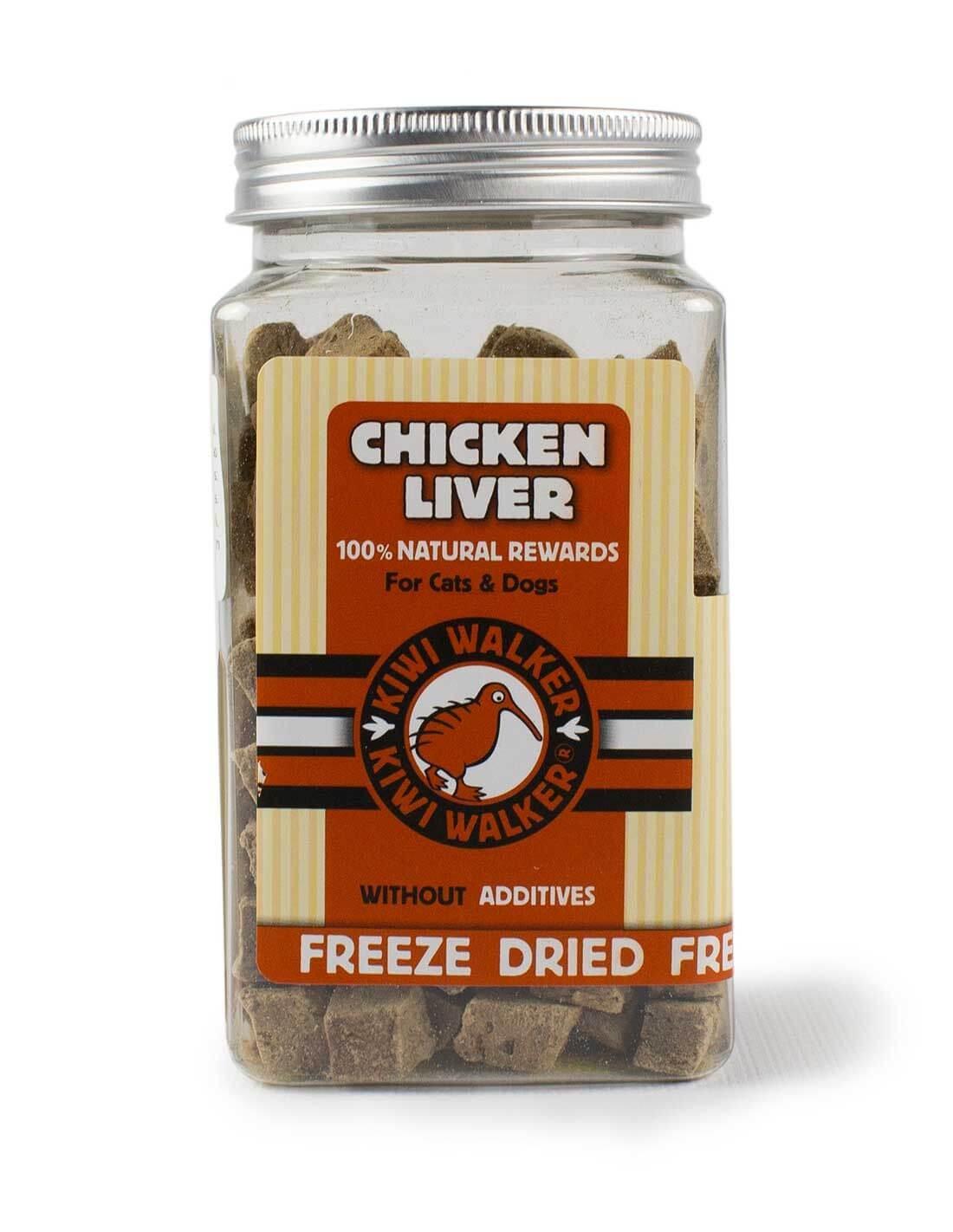 Snack Natural Liofilizado Hígado de Pollo 105g